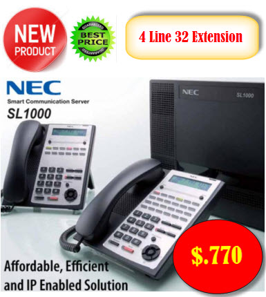 nec sl1000 4 line 32 extension